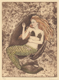 Mermaid in Storm